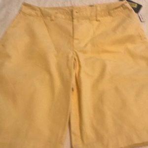 Boys ralph lauren polo butter yellow shorts